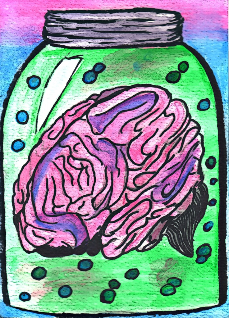 brain raw cartoonizer